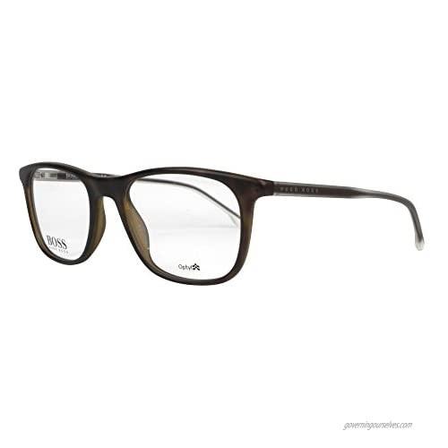 Eyeglasses Boss (hub) 0966 0N9P Matte Havana / 00 Demo Lens
