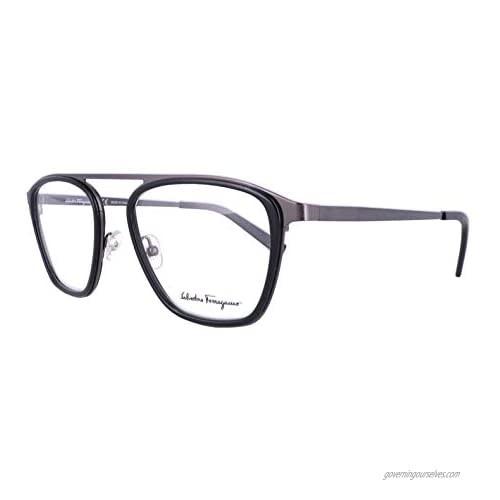 Eyeglasses Salvatore Ferragamo SF 2834 001 Black/Clear Lens