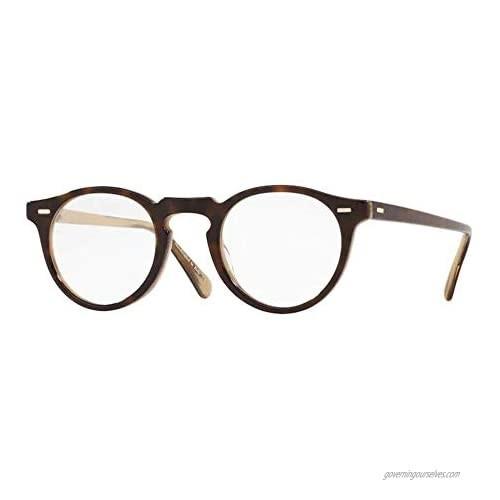 Oliver Peoples GREGORY PECK OV 5186 TORTOISE HORN 47/23/150 men Eyewear Frame