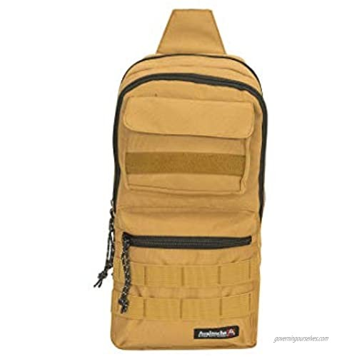 Avalanche Utility 5.7L Compact Crossbody Chest Sling Bag Backpack with Pockets