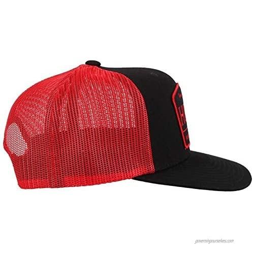 Hooey LLC Trip Black and Red Trucker Cap