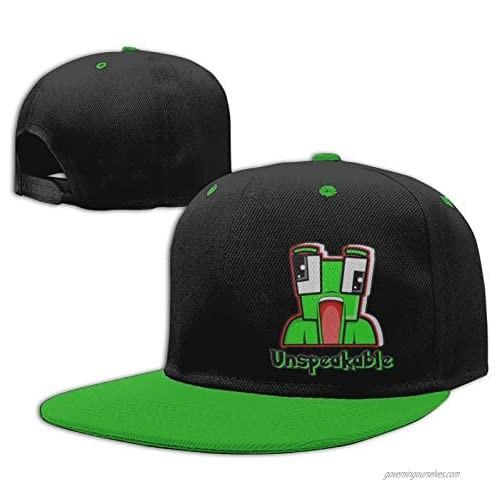 LKYN Kids Cotton Baseball Cap Un-Speak-Able Adjustable Hip-Hop Hat Outdoor Trucker Cap