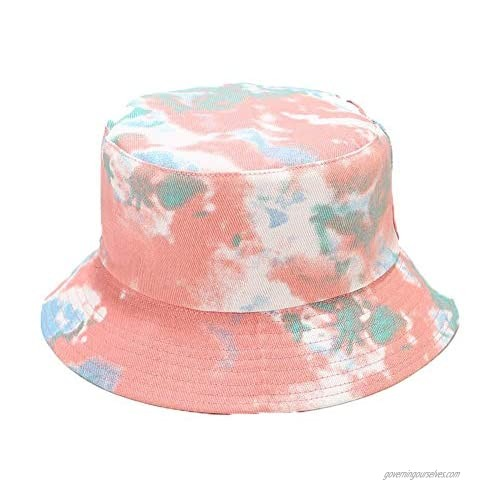 Bucket Hats Fashion Printed Summer Fisherman Travel Outdoor Beach Sun Caps for Mens and Womens