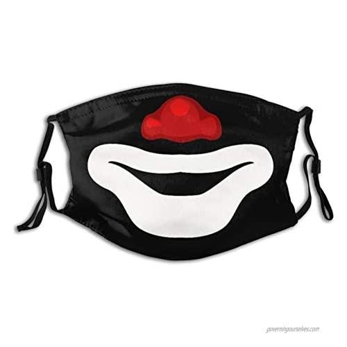 Rip Cepillin The Clown Reusable Face Mask-Breathable Comfort