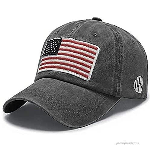 MOLOME Unisex Vintage Washed Distressed Baseball-Cap Twill Adjustable Washed Plain Baseball Cap