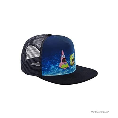 SpongeBob SquarePants Underwater Snapback Hat MULTI One Size