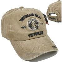 Vietnam Era Army Veteran Tonal Pigment Washed Cotton Mens Cap