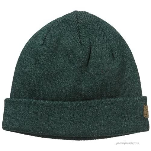Coal Men's The Harbor Classic Fine Knit Cuffed Beanie Hat