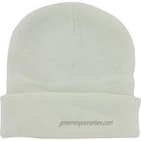 DealStock Plain Knit Cap Cold Winter Cuff Beanie (40+ Multi Color Available)