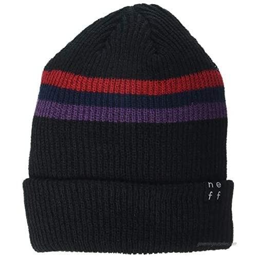 NEFF Men's Logo Cuff Beanie Hat