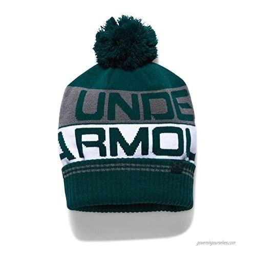 Under Armour UA Retro Pom 2.0 Beanie OSFA Arden Green