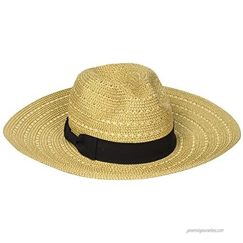 San Diego Hat Company Women's Ultrabraid Panama Sunhat