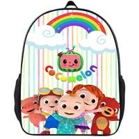 Cartoon Backpack Boy Girls Lightweight Bag Travel Laptop Backpack