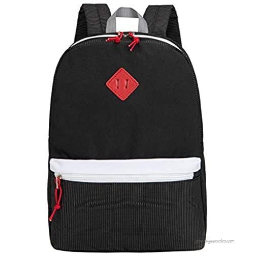 Hawlander Toddler Backpack  Little Kids School Bag for Boys or Girls  Black