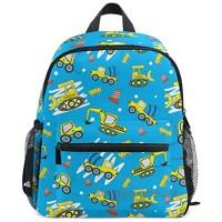 Sloth Floral Backpack for Kids Bookbag Daypack Chest Strap Water Resistant