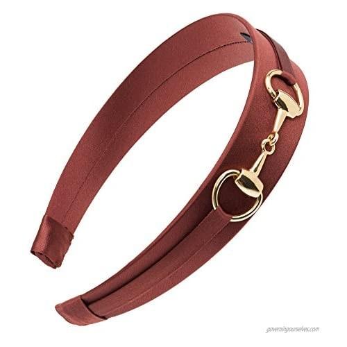 L. Erickson USA Bit Headband - Chocolate