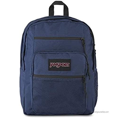 Jansport Big Campus Backpack - Lightweight 15-inch Laptop Bag  Navy