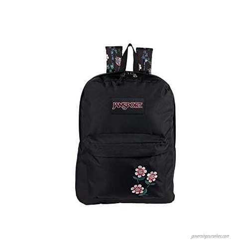 JanSport Superbreak Plus FX Backpack - School  Work  Travel  or Laptop Bookbag with Water Bottle Pocket