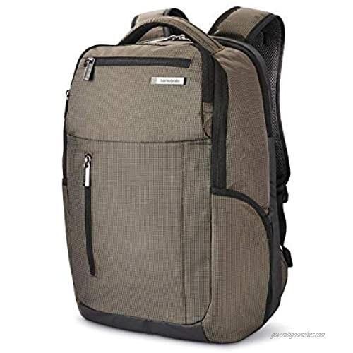 Samsonite Tectonic Lifestyle Crossfire Business Backpack  Green/Black  One Size