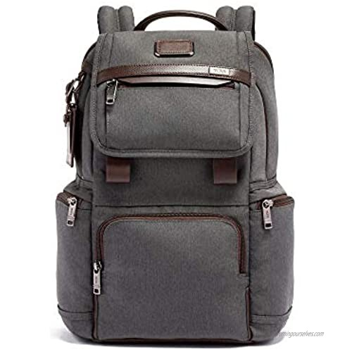 TUMI - Alpha 3 Flap Backpack - 15 Inch Computer Bag for Men and Women - Anthracite