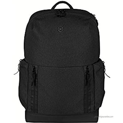 Victorinox Altmont Classic Deluxe Laptop Backpack with Bottle Opener  Black  18.9-inch