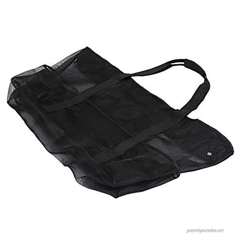 IRISFLY Large Mesh Beach Bag – Family Tote & Pool Bag Beach Tote Bag - Extra Storage - 9 Oversized Pockets