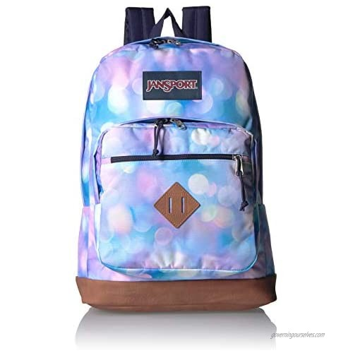 JanSport City View Backpack - 15-inch Laptop School Pack  City Lights