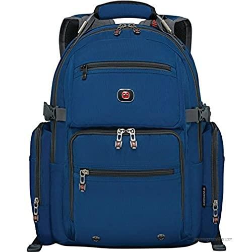 SwissGear Breaker Backpack with 16 Laptop Pocket & 10 Tablet Pocket Blue