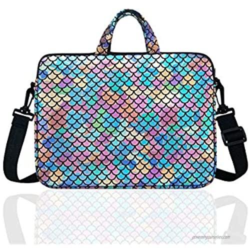 "10.5-Inch Laptop Ipad Shoulder Carrying Bag Case For 9.6"" 10"" Tablet/Reader(Colorful)"