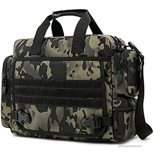 CamGo Tactical Briefcase 14 inch Laptop Messenger Bag Military Style Shoulder Bag Handbag for Men
