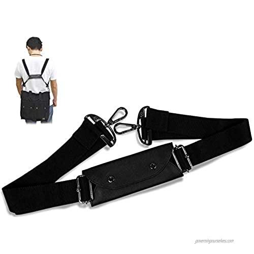 COAROO 5-Way Duffle Bag Strap Convertible | Backpack Straps Replacement | Bag Straps Replacement Crossbody | Crossbody Strap for Bag | Bag Strap Crossbody | Messenger Bag Strap | Shoulder Bag Strap