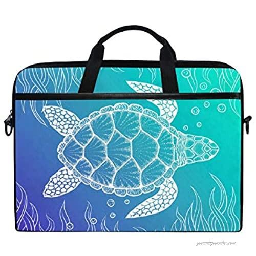 KUWT Laptop Case Animal Ladybugs Print Laptop Shoulder Messenger Bag Case Sleeve